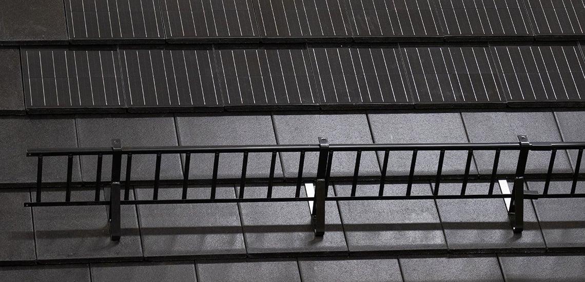 Hófogó a tetőn